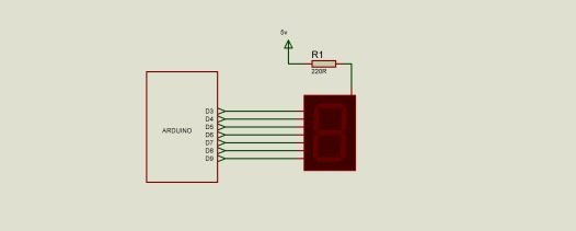 arduino and display schematic