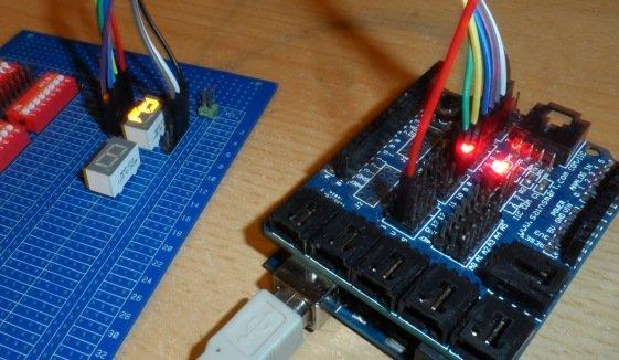 display to arduino