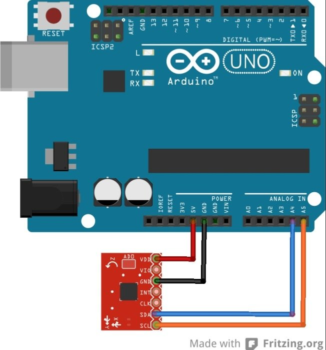 Guide For Ds18b20 Temperature Sensor With Arduino additionally Quadcopter Using Kk 2 15 Module 950903 together with ForceSensorResistor moreover Arduino led bar graph also Arduino Mma7455 Accelerometer. on monitor connection diagram