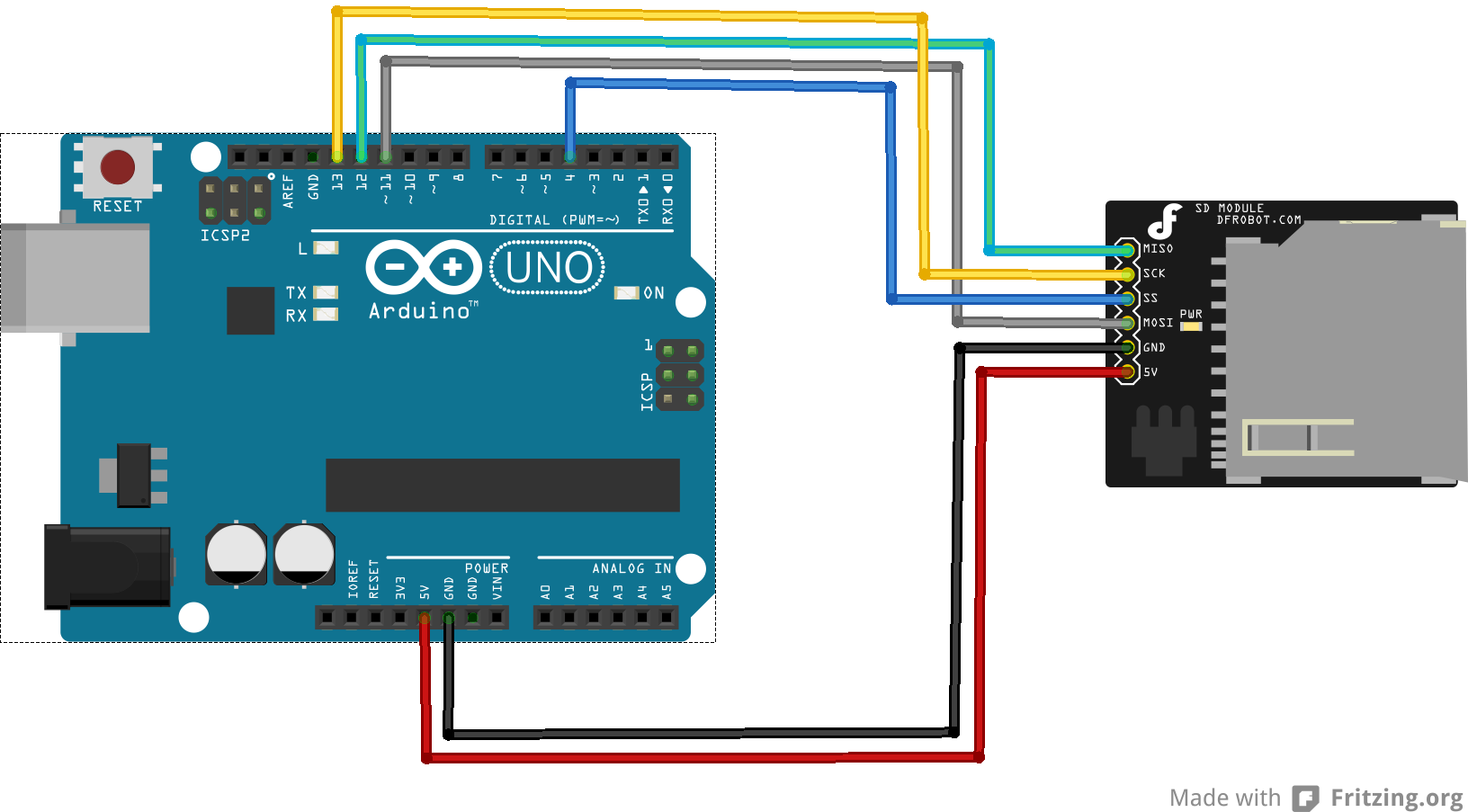 Arduino sd card example « get micros