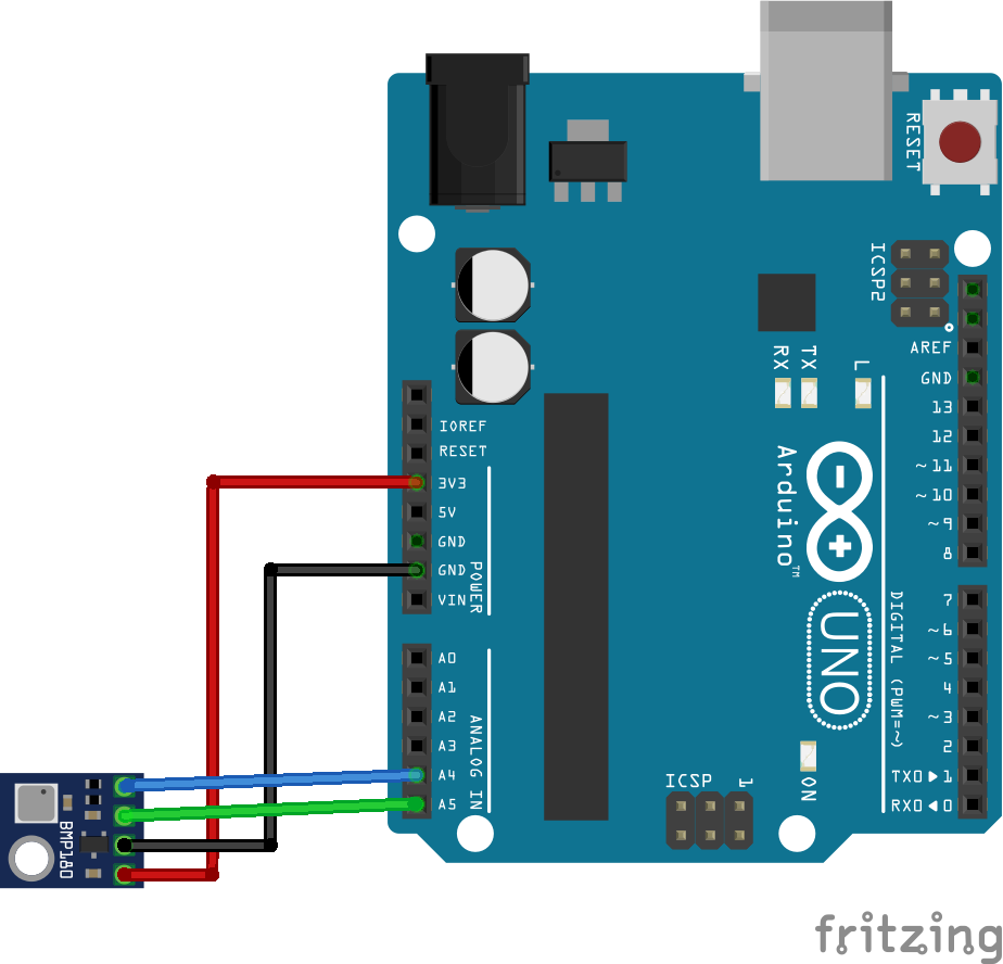 Arduino UNO and BMP180