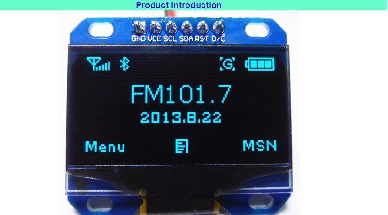 128X64 OLED LCD LED DISPLAY MODULE