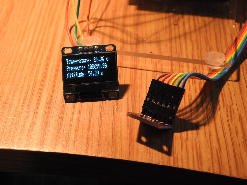bme280 on OLED output