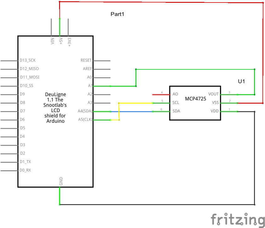 mcp4725 schematic