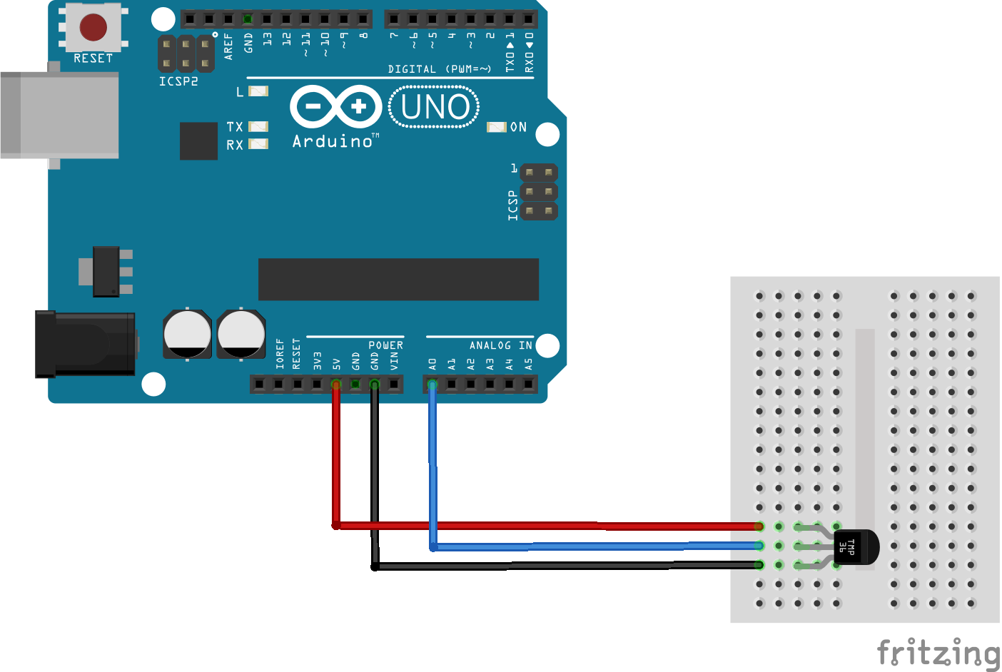 The TMP36 is very easy to connect to your Arduino here is a  #107391