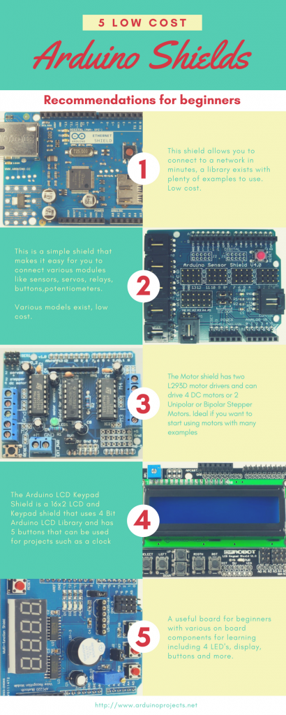 Arduino shields for beginners get micros