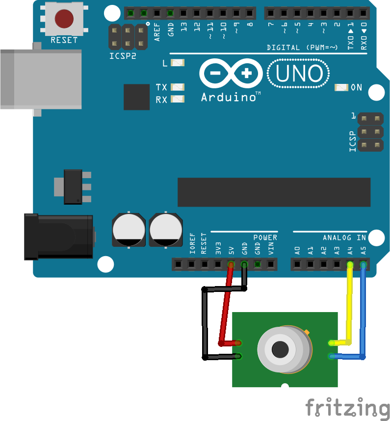arduino and mlx90614