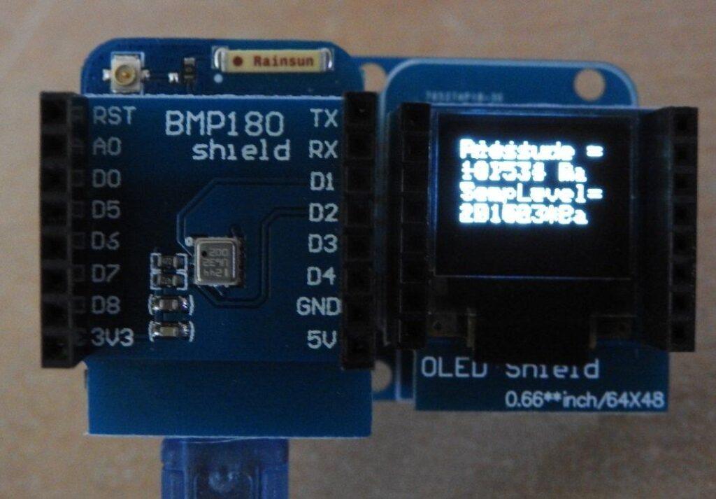 bmp180 output